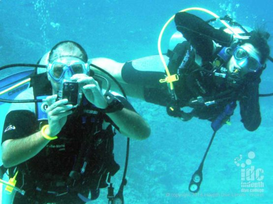 Take some photo memories on your PADI Fish ID course with Indepth Phuket