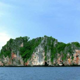 Ko Doc Mai is a nice wall dive near Chalong Phuket Thailand
