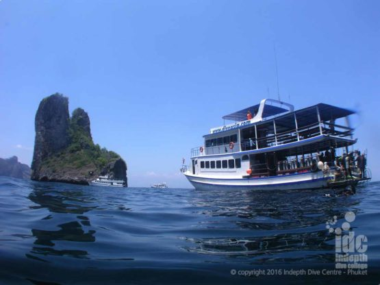 Scuba Diving Day Trip Boat 5 with Indepth Dive Centre Thailand