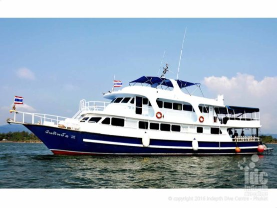 Join Indepth and Andaman Tritan Liveaboard Safari