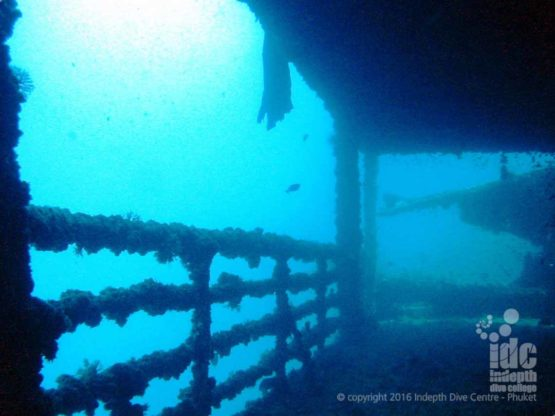 Phuket wreck diving on the King Cruiser can be awesome