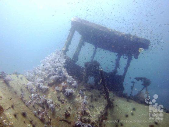 A nice Phuket ship wreck on Racha Yai Island