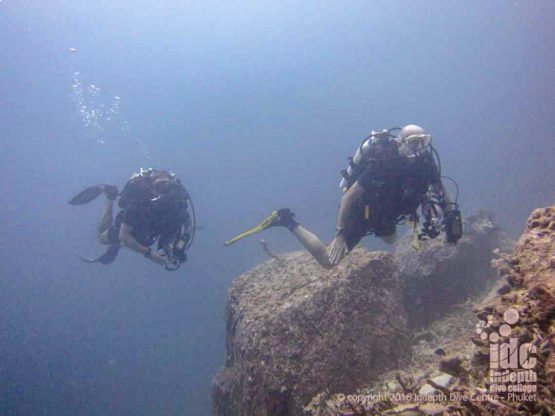 Rebreather Diving at Similan Islands Christmas Point