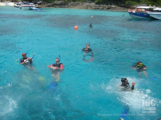 Racha Yai Bay 3 Try Dive diving with Indepth Dive Centre Phuket