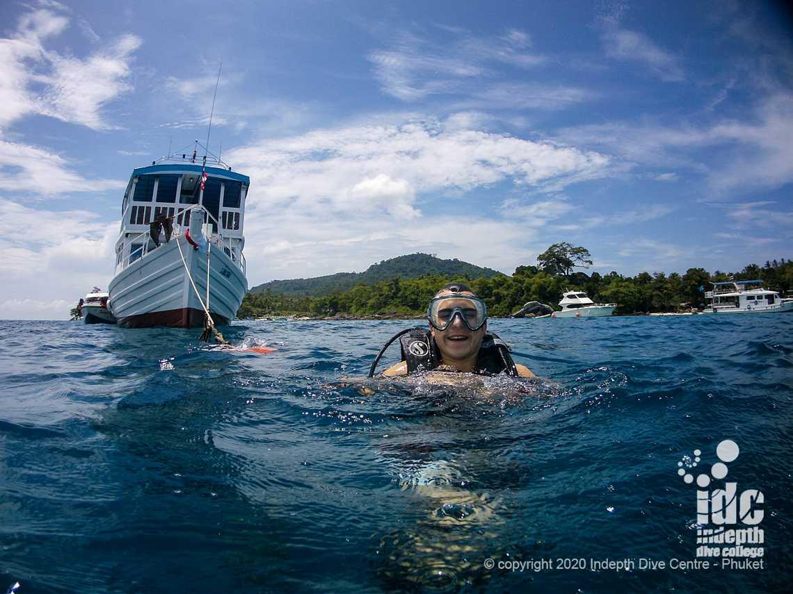 Racha Yai Bay 1 is the best Local Dive Site at Racha Yai Phuket