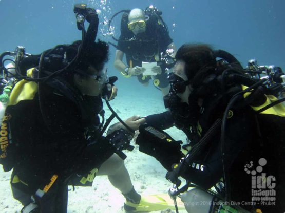 AWESOME time diving Poseidon Rebreather while taking PADI Scuba Refresher ReActive with Indepth Phuket