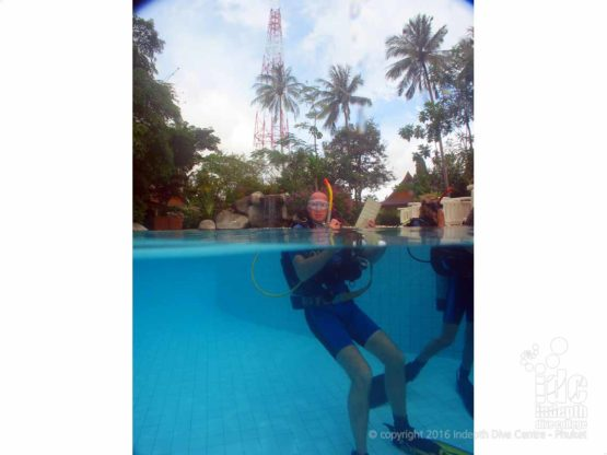 Refraction in Action: just as you learnt in your Dive Theory