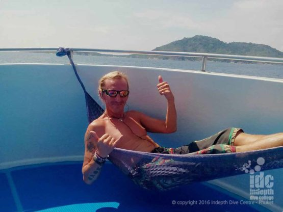 With Indepth you will ReActivate your diving skills in a nice relaxed manner