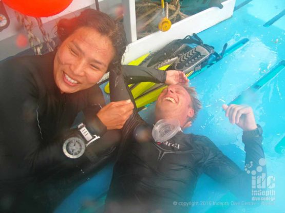 PADI Rescue Diver Course is always a fun experience with Indepth