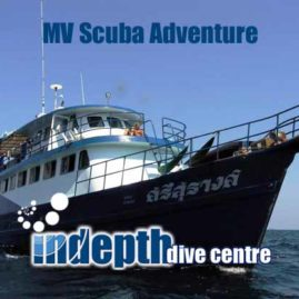 MV Scuba Adventure Liveaboard – Indepth Dive Centre Phuket