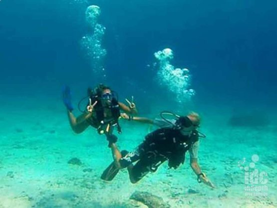 Scuba Diving fun at Racha Yai Bay 3 with Indepth Dive Centre Phuket