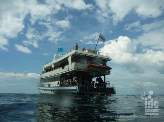 Dive The Boonsong Wreck on a Similans Liveaboard Safari