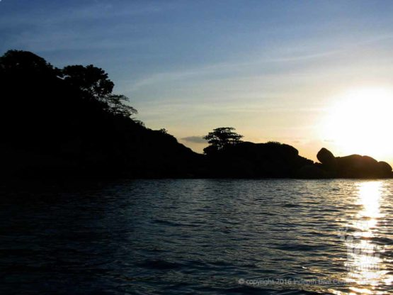 Another awesome sunset at Turtle Rock in The Similans with Indepth Dive Centre