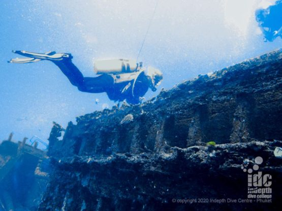 Wreck at Beacon Reef - Similan Islands Dive Sites