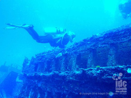 Similans Wreck Diving with Indepth Dive Centre
