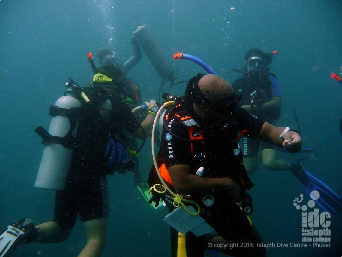 PADI Specialty Instructor Courses on Phuket are a great way to improve your chances of getting work