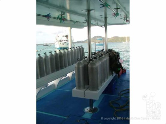 Phuket scuba diving Day Trip Boat Dive Platform