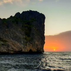 Beautiful sunrise at Koh Haa Yai - Koh Lanta Divesites
