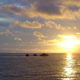 beautiful sunset at Hin Daeng