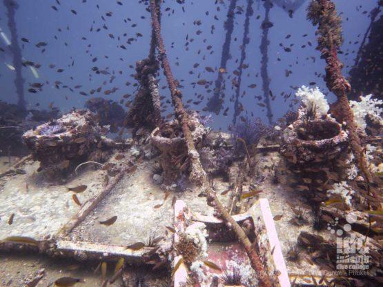 Toilets wreck diving Phuket