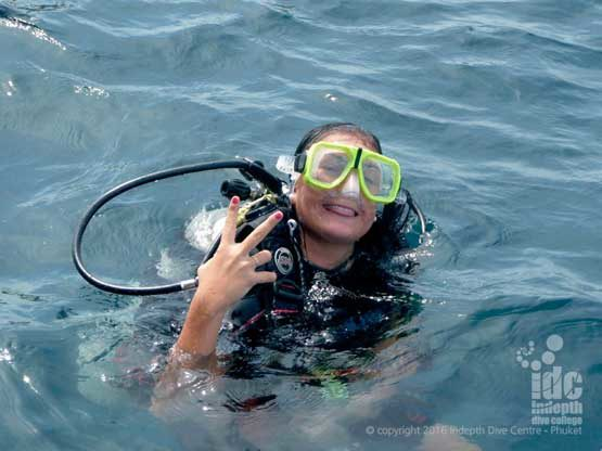 Try dives and PADI Discover Scuba are great things to be doing at Homerun Reef on Phuket
