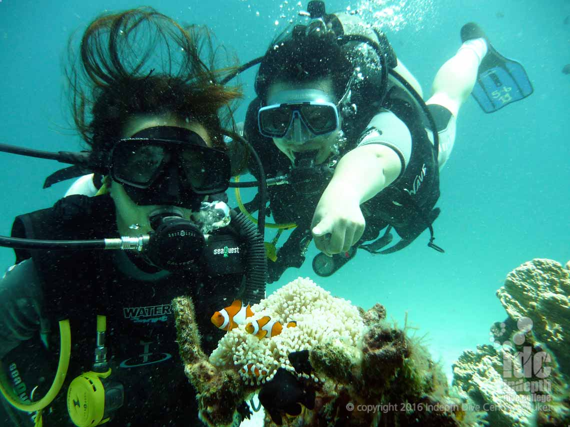 Try Scuba Diving in one day with Indepth Dive Centre on Phuket Thailand