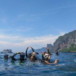 Turtle Rock dive site AKA Maya Wall North - Phi Phi Islands Dive SItes