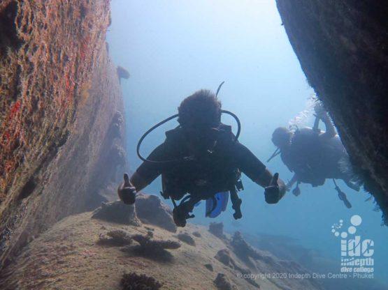 Turtle Rock swimthrough
