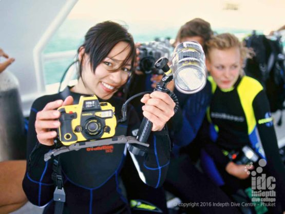 Underwater Photo Dive is a popular choice for PADI Master Scuba Diver