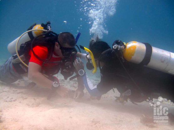 A PADI unresponsive diver underwater is one of the worst things a diver could find