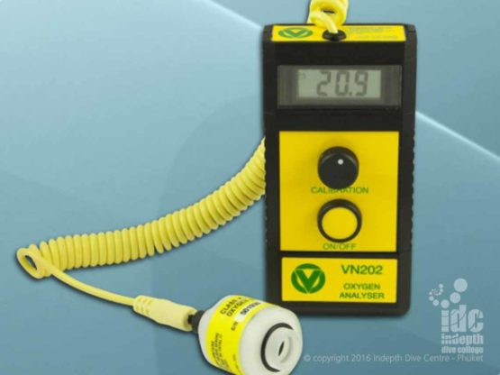 Indepth uses Vandagraph Oxygen Analysers for Nitrox tanks