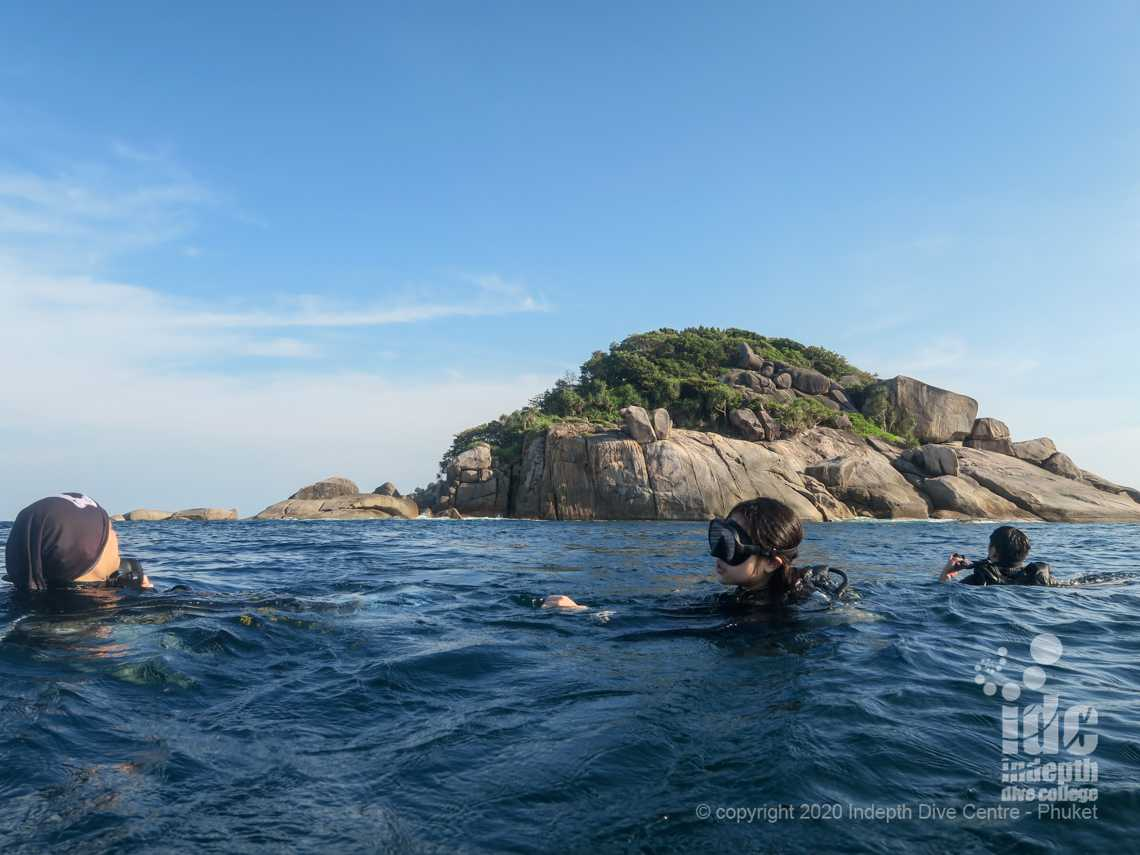 West of Eden is one of the first dive sites on a Similans Liveaboard Safari