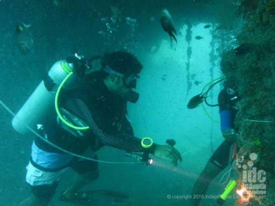 Wreck Specialty Instructor Course on King Cruiser Phuket