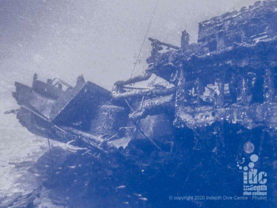 Wreck diving Beacon Reef