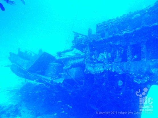 Photo taken wreck diving on Atlantis Ship Wreck at Beacon Reef Similans Islands Thailand