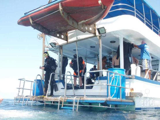 One of the Phuket dive boats we use for PADI Boat Diver Specialty