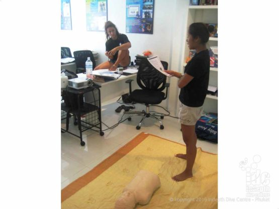 EFR Instructror Course at Indepth Dive Centre Phuket Thailand