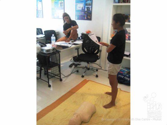 EFR Instructror Course at Indepth Dive Centre Phuket Thailand