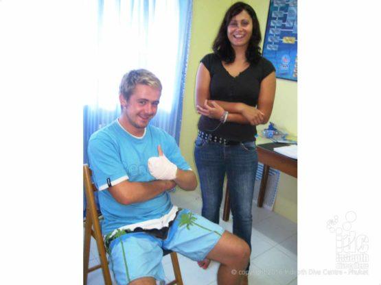 Happy PADI First Aid Instructors