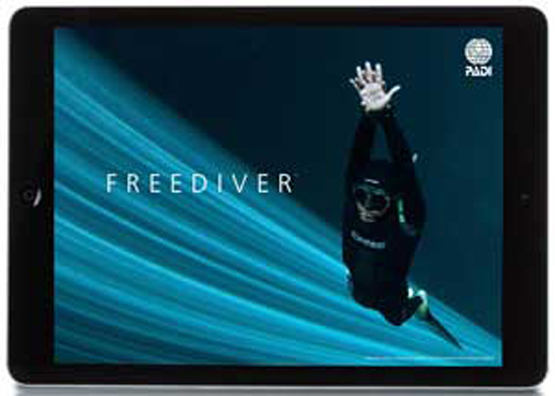 PADI Touch Products: The PADI Free Diver Touch available from Indepth Dive centre TODAY