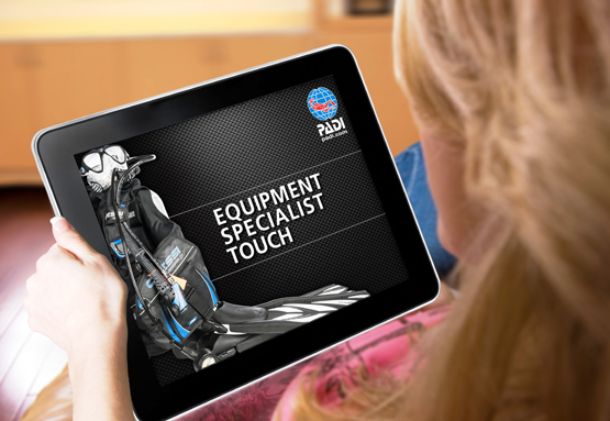 PADI Equipment Touch is probably the best digital scuba diving equipment product available today