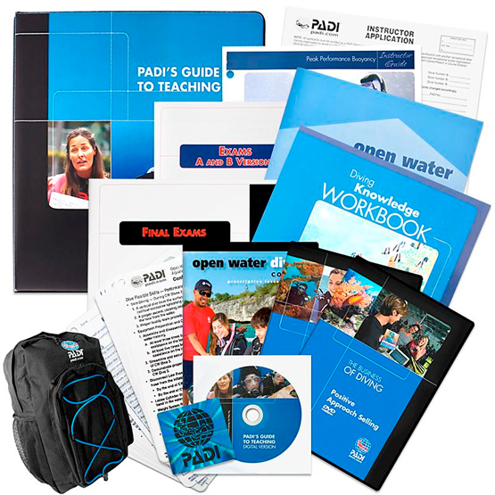 PADI IDC materials 2019 are offered to all our PADI IDC Phuket Candidates in 2019 at Specially Discounted Prices