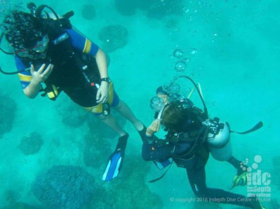 Scuba Diving at Mai Thon Dive Site Phuket