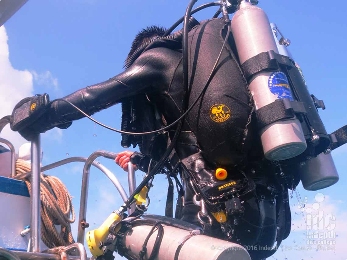 Take your PADI Advanced Rebreather Course with Chris and Indepth on Phuket Thailand