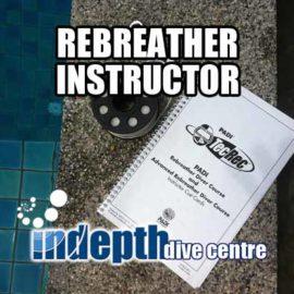 PADI Rebreather Instructor Course on Phuket with Poseidon Rebreather Instructor Trainer Chris Owen