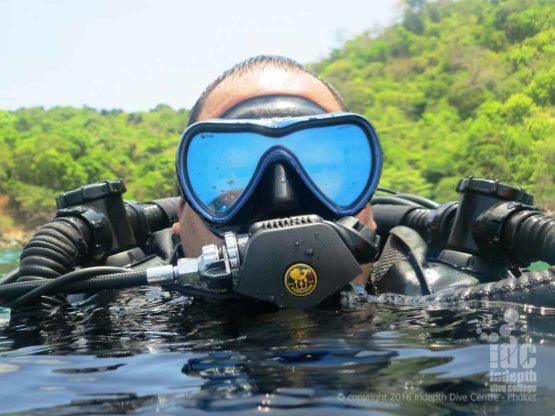 PADI CCR Rebreather Course on Phuket