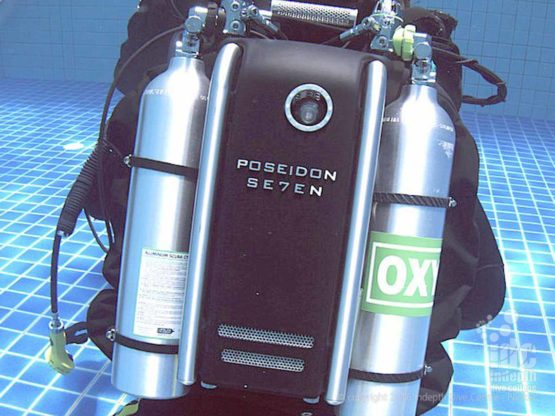We use Poseidon Se7en Rebreathers on our PADI Rebreather Course on Phuket