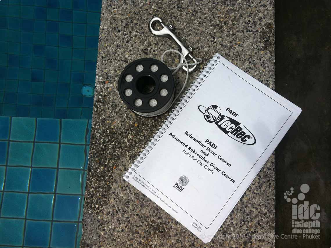 Become a PADI Rebreather Instructor Course on Phuket Thailand with Chris and Indepth Dive Centre