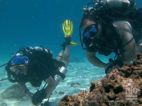 Poseidon-Se7en Rebreather diving course at Racha Yai Phuket Thailand