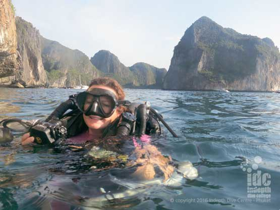 Thailand is an awesome destination for CCR rebreather diving with Indepth Dive Centre